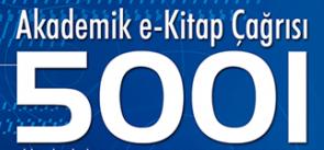 TÜBİTAK 5001 Akademik e-kitap çağrısı